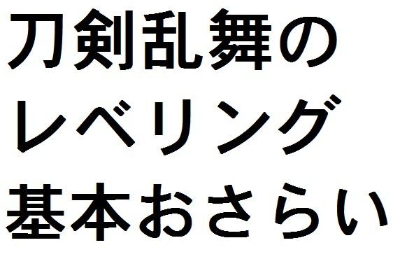 タイトル用画像 レベリングの基本.jpg